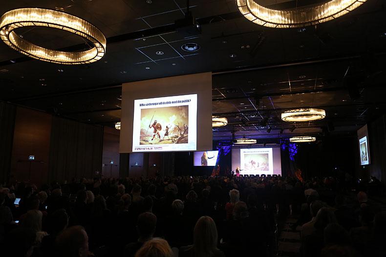 Attendance at Web Days, Photo: Niklas Hilden.
